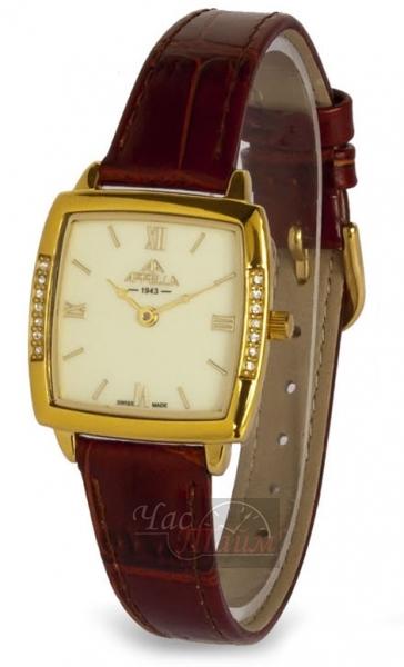 Наручные швейцарские часы кварцевые Appella Dress Watches AP-4260-1012. Страна. Женские. стальной с золотым