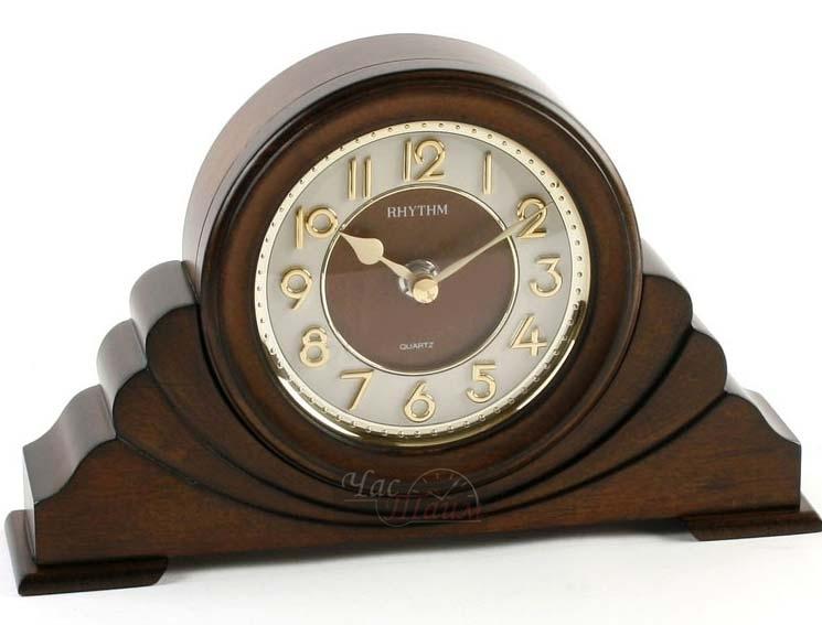 Часы настольные деревянные